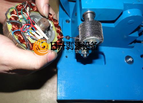 GD-1漆包线脱漆机成功案例