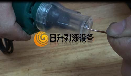 GD-8手提式电动漆包线刮漆机成功案例